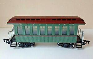 New Bright Greatland Green Passenger Coach Railroad Train G Gauge 1994