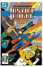 JUSTICE LEAGUE INTERNATIONAL Vol.1 #10(2/88)1:GREEN LANTERN G'NORT(CGC IT)NM/NM+