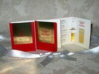 """Gold Must de Cartier"". Women's Eau de Parfum Vial. Lot of 3. New."