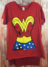 Woman Wonder Womens Graphic Tshirt With Cape Halloween