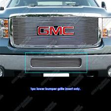 Fits 2011-2014 GMC Sierra 2500HD/3500HD Bumper Billet Grille Grill Insert