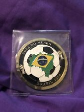 C74 Diplomatic Security Service Brazil Basil World Cup 2014 Challenge Coin