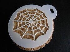 Laser cut small web design cake, cookie, craft & face painting stencil