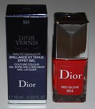 Dior Couture Colour Gel Shine Nail Lacquer Red Glove #954 Ltd Edition New