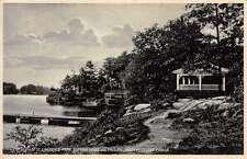 Brockville Ontario Canada St Lawrence Bathing House Antique Postcard J57433