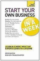 Start Your Own Business En A Week: Teach Yourself Livre de Poche Kevin