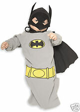 Batman Grey Gray Bunting Child Costume Newborn 0-9 mos.
