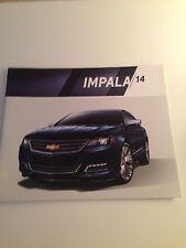 2014 Chevy Impala 30-page Original Sales Brochure