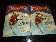 THE VICTOR BOOK for BOYS - Annual - Year 1977 - UK Annual ( Price Tab Intact )