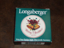Longaberger 2000 Merry Christmas Tie on New in box