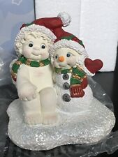 "New In Box Dreamsicles Cherub Figurine ""Snow Glad We're Friends� #F319631 Santa"
