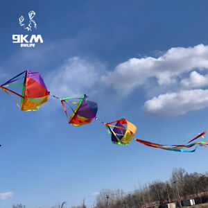 Rainbow Windsocks Spinners Kite Sock Flag Garden Yard Decoration Outdoor Kid Toy