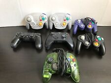 Controller Lot Of 7. Xbox One - PS4 -Xbox 360 - Gamecube . Video Games  Nintendo