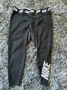 Nike Black Leggings UK: 3XL XXXL 26 28 30 - Plus Size Sportswear -