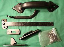 "Steel THUMB LATCH / Handle KIT ~ NOS Lawrence Bros #109 ~ Doors up to 2.5"" thick"