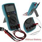 Digital TRMS Multimeter Backlight Auto Range Voltmeter Ammeter Temperature Test
