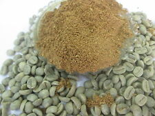 Pure green coffee powder, extracted from raw green unroasted coffee beans. 1kg