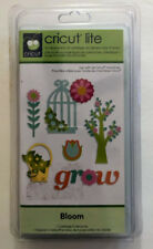 BLOOM Cartridge For Cricut Machine Flowers Fence Bird Cage Phrases Trees NEW