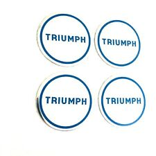YKC1334 - TRIUMPH SPITFIRE,GT6,TR7,8 DOLOMITE WHEEL CENTRE BADGE SET OF 4 PARTS