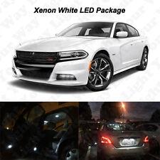 16 X White Led Interior Bulb License Plate Lights For 2011 2016 2017 Charger