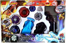 Beyblade Lot Set Jade Jupiter Mercury Anubis Anubius Fang Leone String Launcher