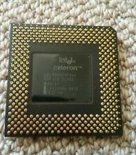 Intel Celeron 366mhz CPU Vintage processor SL35S Socket 370 B80524P366