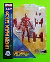Disney Avengers: Inifinity War Marvel Select Iron Man MK50 Exclusive Figure- NEW