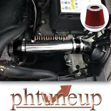 BLACK RED FIT 2011-2015 HYUNDAI VELOSTER ACCENT 1.6 1.6L GDi COLD AIR INTAKE