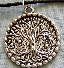 TREE _ OF _ LIFE ~~ MEDALLION   ~  NECKLACE --- (GREAT_CHRISTMAS_GIFT)