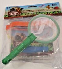 NEW  Backyard Travels Bug Catching Kit Green Everything Kid Need To Study Bugs