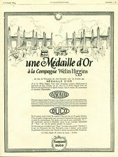 Publicité ancienne automobile Duco émail à froid 1925 issue de magazine