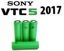 4 x Genuine SONY VTC5  HIGH DRAIN BATTERY 18650 2600 MAH 3.7 V 30A Battery Vape