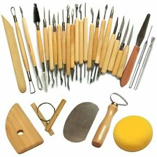 30Pcs Clay Sculpting Set Wax Carving Pottery Tools Shapers Polymer Modeling Diy