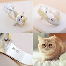 Trendy Garfield Cat Adjustable Rings Women and Lady Lovely Open Finger Ring