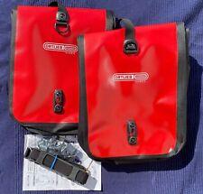 Ortlieb Fahrradtasche Front Roller Classic Red/Black 2 Stück wie NEU Bicycle Bag