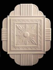 ART DECO ROSE LARGE PLASTER CEILING CENTRE BUILDING DIY RENOVATE