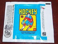 Hockey wax pack wrapper NHL 1979-80 Topps Wayne Gretzky Rookie sports locker AD