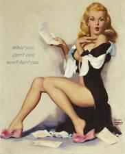 Earl Moran Pin Up Girls Pin Up Girls Giclee Art Paper Print Poster Reproduction