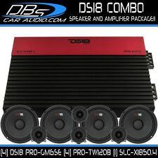 "4 DS18 PRO-GM6SE 6.5"" Car Audio Speaker 