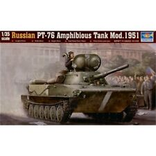 Trumpeter Russian PT76 Amphibious Tank Mod 1951 1/35 scale model kit 00379