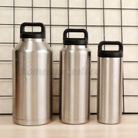 18oz/36oz/64oz Stainless Steel Water Bottle Vacuum Insulated Travel Sport