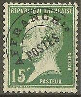 "FRANCE STAMP TIMBRE PREOBLITERE YVERT N° 65 "" PASTEUR 15c VERT "" NEUF xx LUXE"