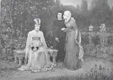 Original 1800-1899 Grafik & Drucke aus Großbritannien mit Radierung