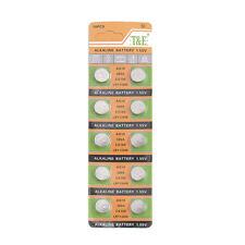 10X AG10 Watch Battery LR1130 389 CX189 LR1130W LR54 389A Alkaline Button Cell