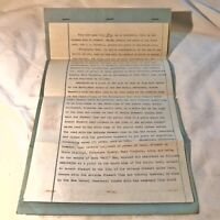 RARE 1950's Mortgage Deed Document Antique Old Papers Historical Piece Vintage