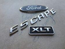 02-06 Ford Escape Xlt Trunk Emblem YL84-7843500-AB Logo 5L8Z-7842528-A Decal Set