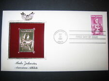 Babe Zaharias Olympics American Athlete 22kt Gold GOLDEN Cover replica STAMP