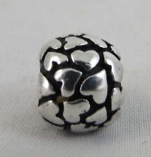 Authentic Pandora Silver Lots of Love Hearts Sweet Heart Charm 790174