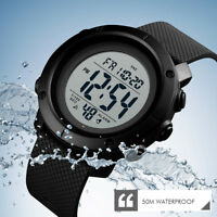 SKMEI Casual Sports Watches Men Fashion LED Digital 50M Waterproof Wristwatches