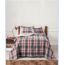 Pendleton Plaid Ridgeway King Size Comforter + 2 Shams NEW Cotton Comforter
